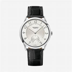 Slim d'Hermes watch, large model 39.5 mm