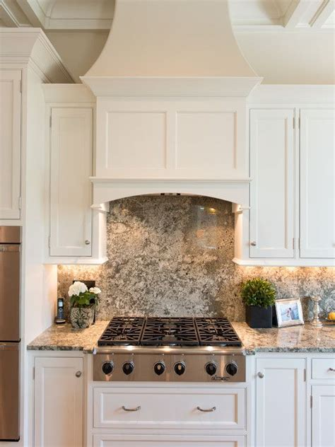 venthood traditional kitchen kitchen cooktop design