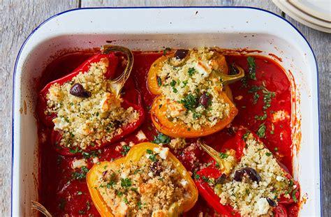 jamies roasted stuffed peppers jamie oliver recipes