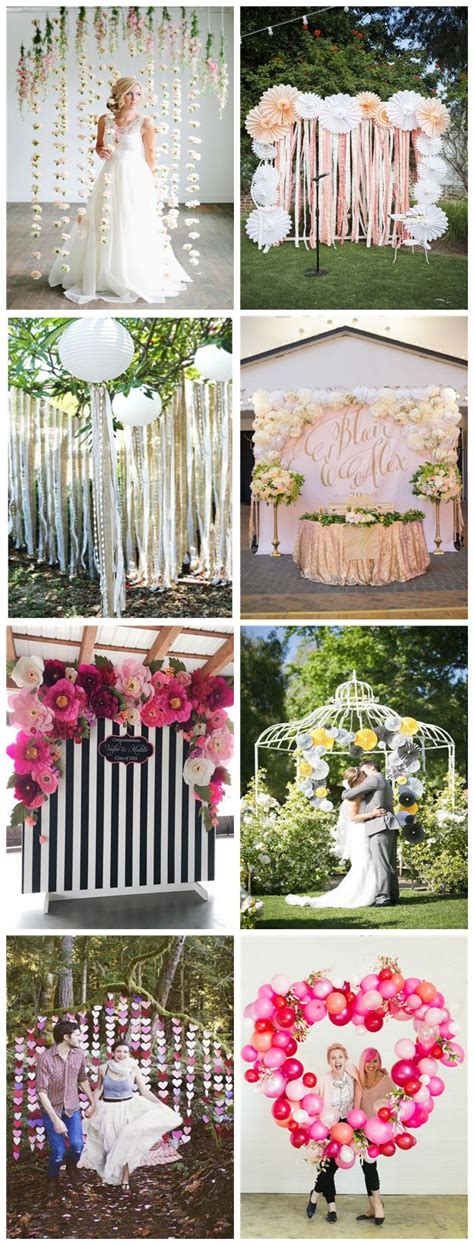 Photo Booth Diy Backdrop Ideas by Pretty Photo Booth Backdrop Ideas With Lots Of Tutorials