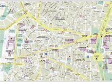 Mappa di Madrid Cartina di Madrid