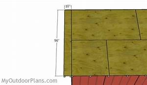 12x20 Shed Roof Plans