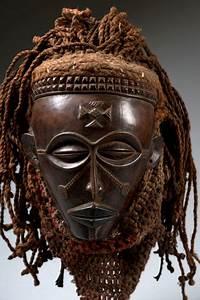 Mask - Chokwe Pwo - Drc Congo    Angola