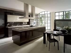 Cuisine Blanc Et Noir : photo le guide de la cuisine noir blanc et marbre gris ~ Voncanada.com Idées de Décoration