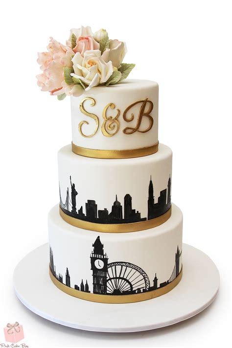 skyline wedding cakes
