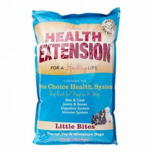 health extension little bites all stages dry dog food 18 With health extension dog food