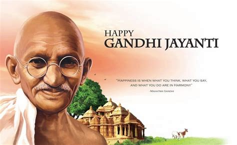 happy gandhi jayanthi images hd wallpapers  october