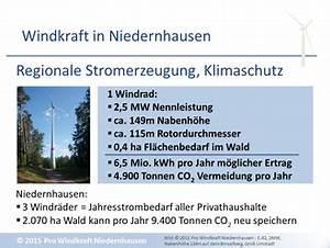 Ertrag Windkraftanlage Berechnen : eckdaten co2 einsparung windkraft pro windkraft niedernhausen ~ Themetempest.com Abrechnung