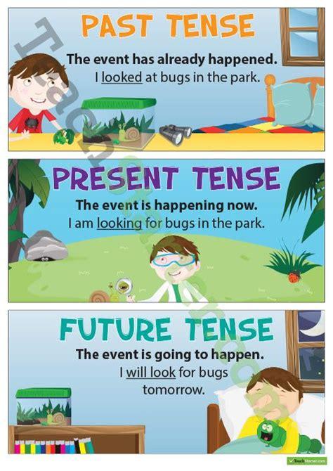 25 best ideas about present tense verbs on
