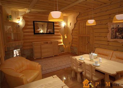 комната отдыха в бане с фото примеров и готовые проекты