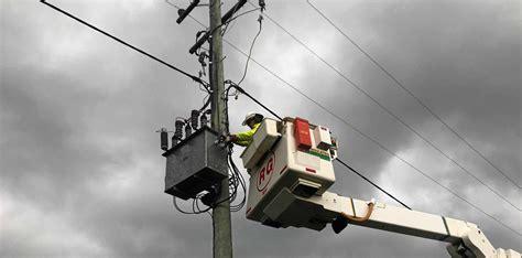 ergon restores power  outage affecting hundreds