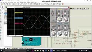 Three Phase Sine Wave Inverter Circuit Using Arduino In