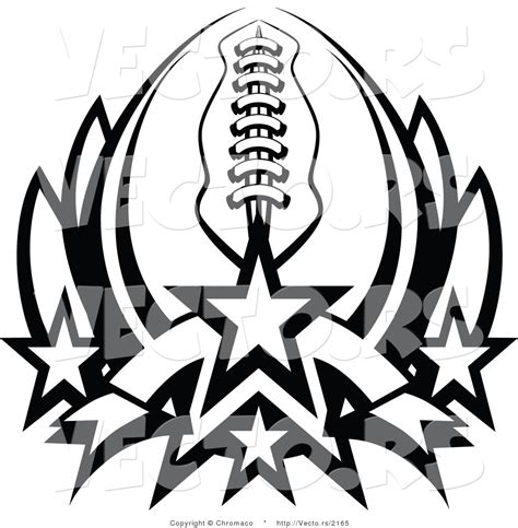american football vector black and white american football black and white clipart clipart suggest