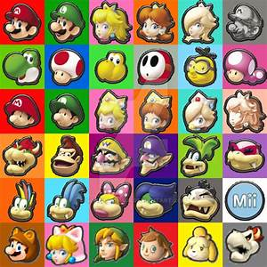 Mario Kart All Characters Pictures to Pin on Pinterest ...