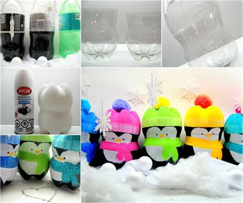Ideas Using Plastic Bottles by Creative Ideas Diy Penguins From Plastic Bottles