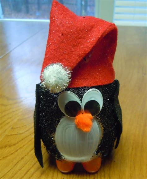 christmas craft ideas turn a recycled water bottle into a