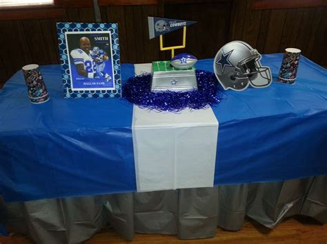 dallas cowboy decorations dallas cowboys football birthday ideas photo 4 of