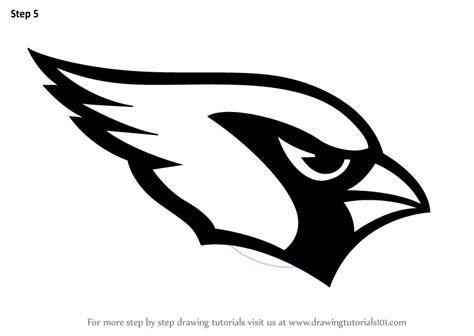 learn   draw arizona cardinals logo nfl step