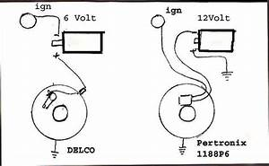 Bob Johnstones Studebaker Resource Website  Wiring Diagram  Pertronix 6 Volt Ignitor 1188p6