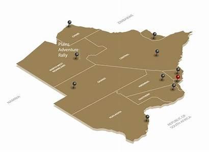 Plains Adventure Rally Botswana Map Location Face