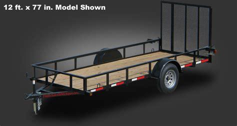 gvwr  ft    utility trailer