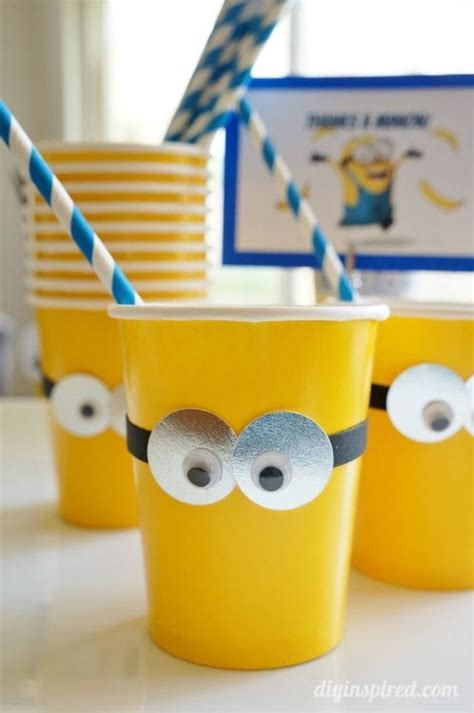 diy minions party ideas diy inspired