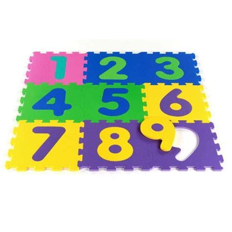 tatamiz tapis puzzle chiffres amovibles 123 achat vente tapis de jeu soldes d 233 t 233 cdiscount