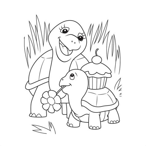 children coloring page   psd jpeg png format