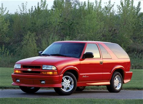 2002 Chevrolet Blazer Pictures, History, Value, Research