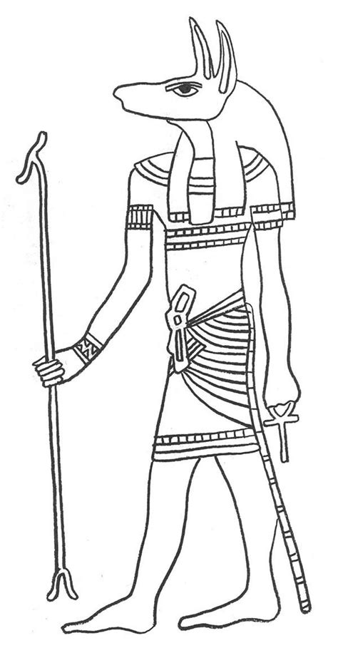 egyptian god coloring pages coloring home