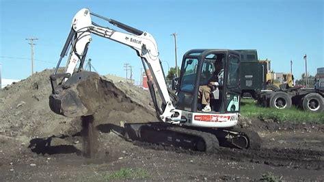 good times equipment bobcat  mini excavator youtube
