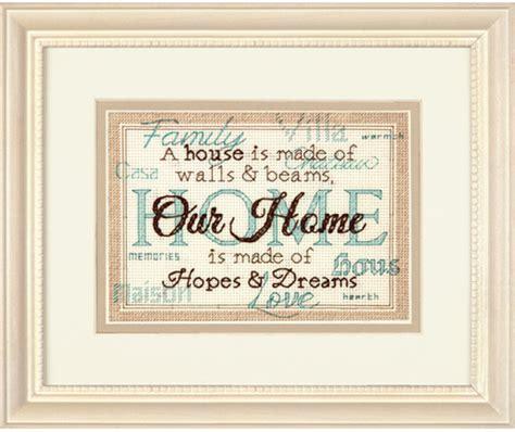 dimensions home cross stitch kit 70 65117 123stitch