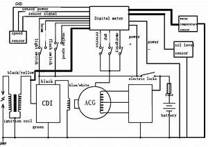 chinese 110 atv wiring diagram get free image about With ignition switch 5 wire start 110cc 125cc 150cc 250cc quad go kart