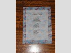 Sample Scrapbooked Poems The Wordsmith's Forge