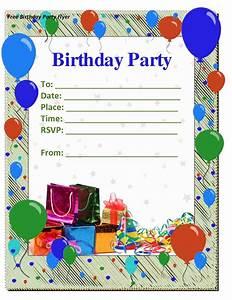 50 free birthday invitation templates you will love With happy birthday invites template