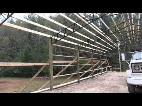 Steel Pole Barn Kits by Steel Truss Pole Barn Kits Best Prices