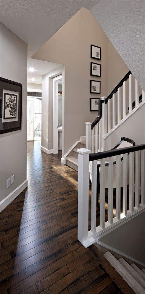 wall color floor color and stair combo decor