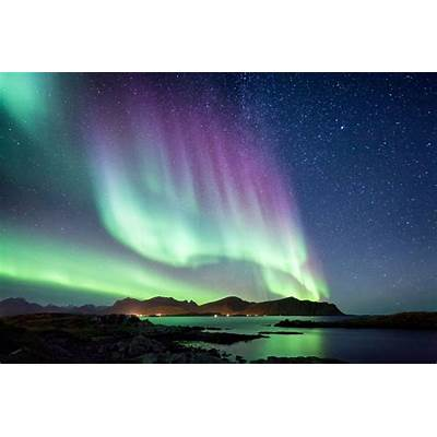 The Aurora Borealis (Northern Lights) in Scandinavia