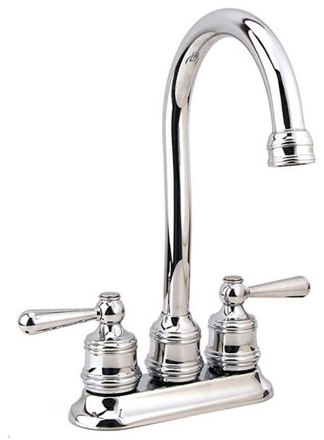 Overstock Moen Kitchen Faucets by Moen Traditional Collection Chrome 2 Handle Bar Faucet
