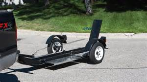 Stand Up Trailer five affordable motorcycle trailers worth considering
