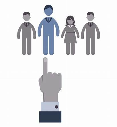 Recruitment Hr Process Vector Hiring Selection Workflow