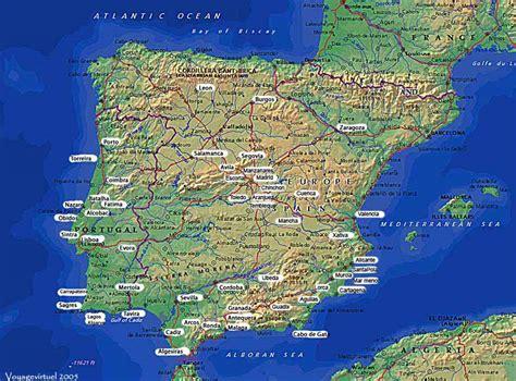 Carte D Espagne Avec Villes by Carte D Espagne Photos Et Cartes Postales D Espagne