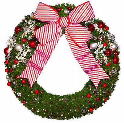 Candy Cane Wreath Christmas Commercial Wreaths Decorations