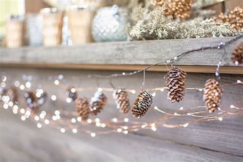 ways    pinecone garland guide patterns