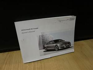 2010 Audi A5 Coupe Owners Manual Guide Book
