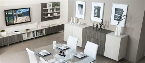 bureau laqué blanc ikea rangements modernes dans une salle à manger photo 10 15