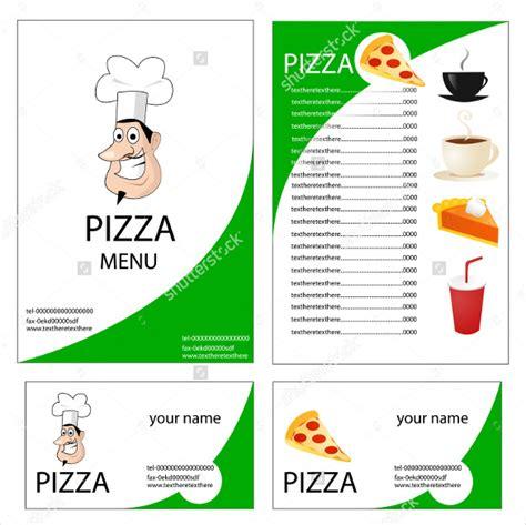 Pizza Menu Template Word by Pizza Menu Template Free Popular Sle Templates