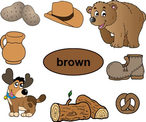 brown objects clipart clipart station