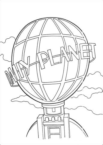 daily planet globe coloring page  printable coloring pages