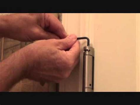 adjust  door hinges   closing